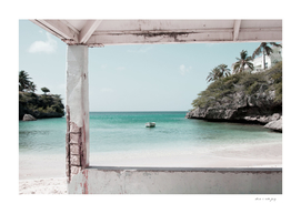 Blue Lagoon Beach Dream #2 #wall #decor #art