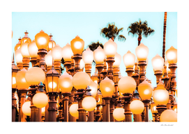 Urban Lights at LACMA art museum, Los Angeles