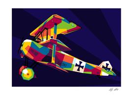 The Fokker Dr.I Legend Aircraft