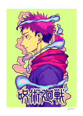 ANIME - Jujutsu Kaisen (Yuji Itadori)