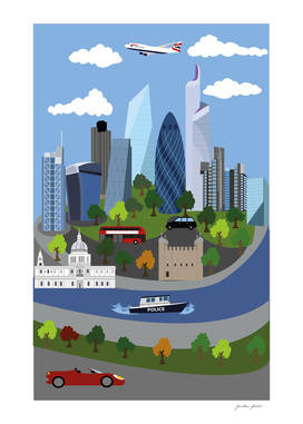 London Illustration 2