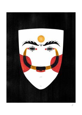 Greek Traditional Mask - Genitsaros