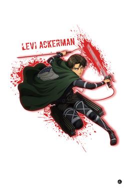 Levi Ackerman Aot Characters