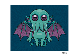 Cute Baby Cthulhu Monster