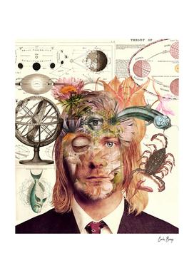 Kurt Cobain Surreal Collage