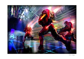 Halo Team Red vs Blue