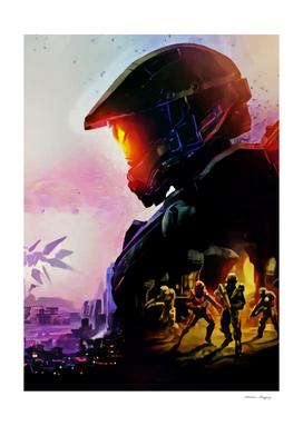 Halo Master Chief V