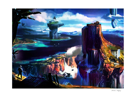Halo landscape