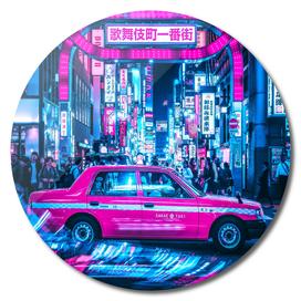 Tokyo Street Cyberpunk Car 2077