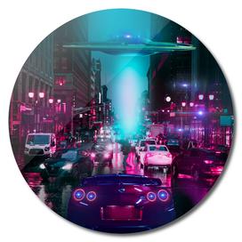 Cyberpunk 2077 With Ufo