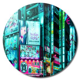 Tokyo Street Night
