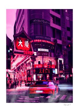 Tokyo Street Cyberpunk 2077 Car