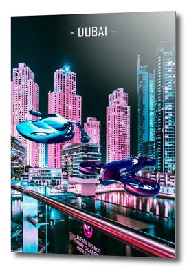 Dubai City Cyberpunk 2077