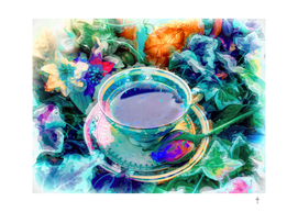 A Cup Of Tea For Van Gogh - Blue Version