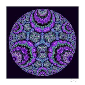 Hyperbolic Purple Lava 3