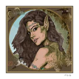 Portrait of an Elven Princess