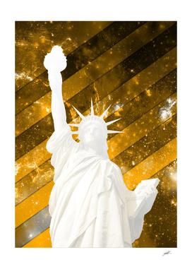 LIBERTY GOLD POPART