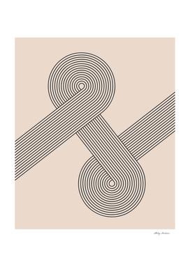 Mid century Modern Geometric