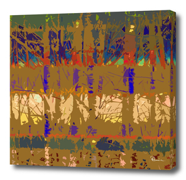 Tropical Trees in Abstract Cubist Brown