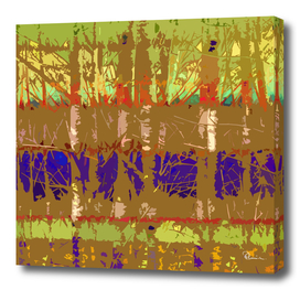 Tropical Trees in Abstract Brown and Lime