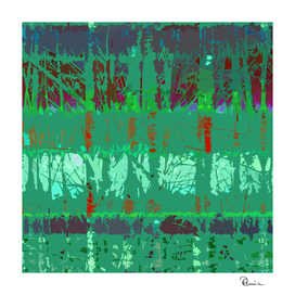 Tropical Trees in Abstract Cubist Green