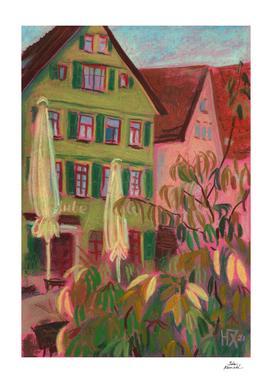 Green House in Esslingen Baden-Württemberg, Germany