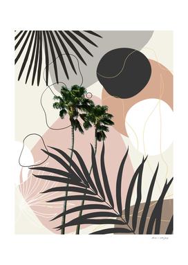 Cali Palm Tree Finesse #1 #tropical #decor #art