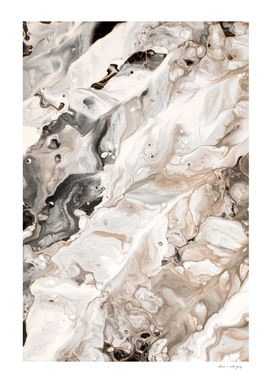 Abstract Marble Glam #4 #painting #wall #decor #art