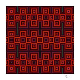 Navajo Blanket Tribal Design 3