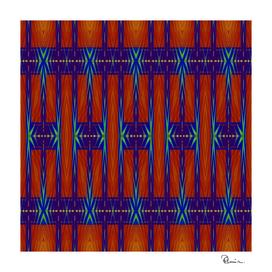 Navajo Blanket Tribal Design 5