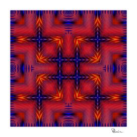 Navajo Blanket Tribal Design 4
