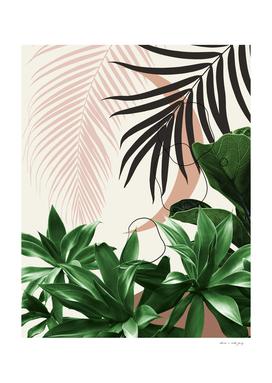 Minimal Moon Agave Palm Finesse #3 #tropical #decor #art
