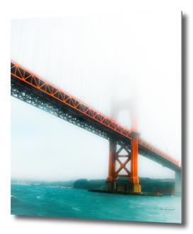 bridge and bay view at Golden Gate Bridge, San Francisco