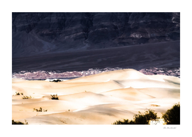 sand dunes at Death Valley national park, California, USA