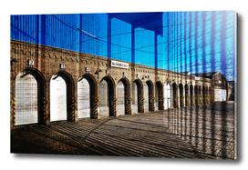 Blue Urban Lines of Berlin