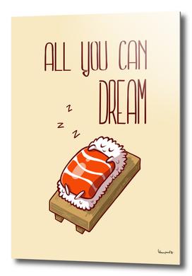 nigiri sake sleep