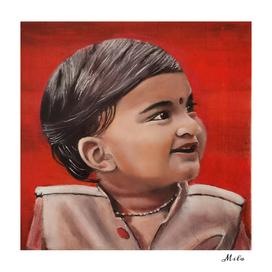 little hindu boy