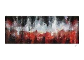 Horizontal abstraction from fiery imitation.