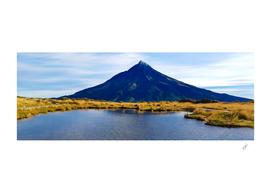 Taranaki is a volcano in New Zealand.