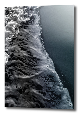 Dark Blue Black Ocean Beauty #1 #wall #decor #art