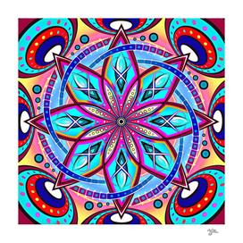 Mandala HD Sacred Pillow