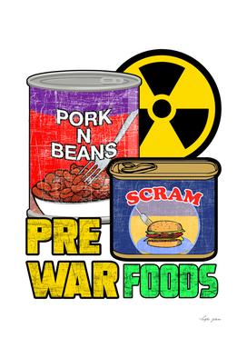 FALLOUT PRE WAR FOOD