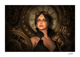 Steampunk Time Keeper