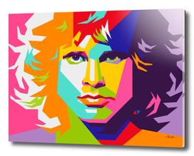 Jim Morrison Pop Art WPAP