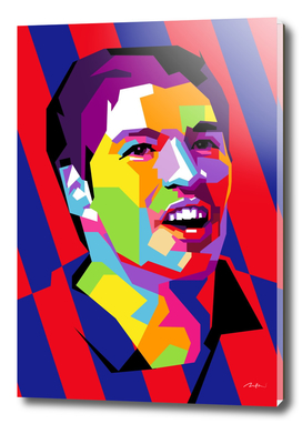 Luis Suarez Barcelona Pop Art