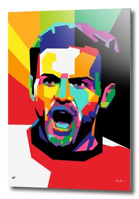 Juan Mata MU Wpap Pop Art