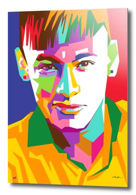 Neymar Jr Brasil Pop Art