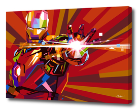 The Iron Man Pop Art Wpap