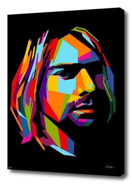kurt cobain pop art wpap