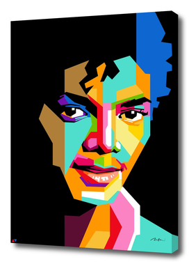 young michael jackson pop art wpap